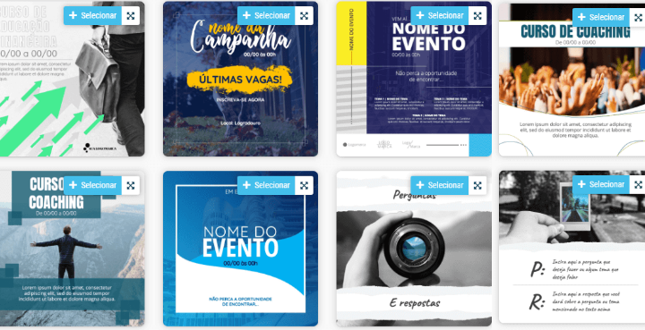 Ideias de Post Para Instagram- +100 Templates